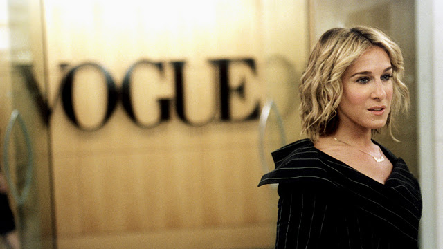Carrie na Vogue