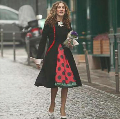 Carrie Bradshaw em Paris