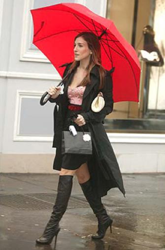 Carrie na Dior