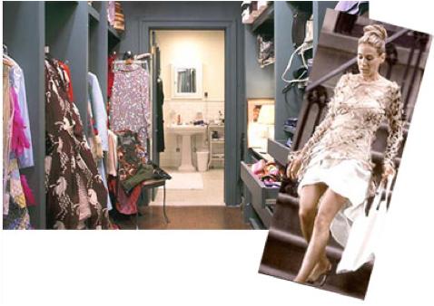 O closet de Carrie