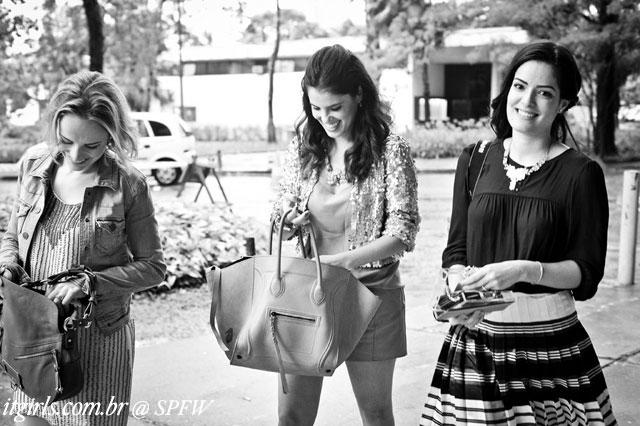 Marina Xandó, De Gebrim e Mariah Bernardes