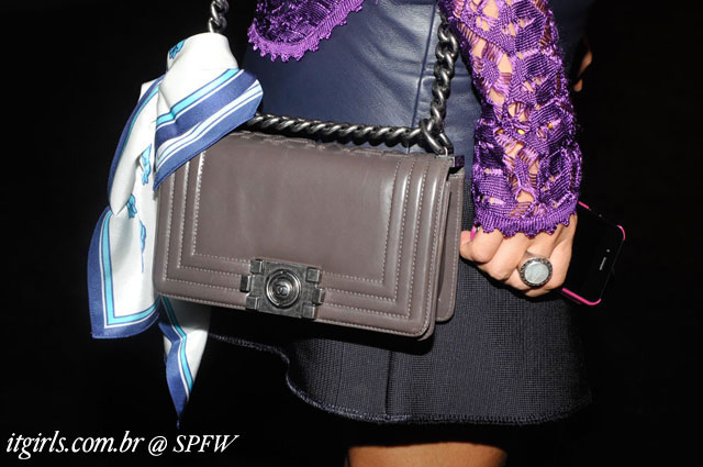 Chanel Bolsa SPFW