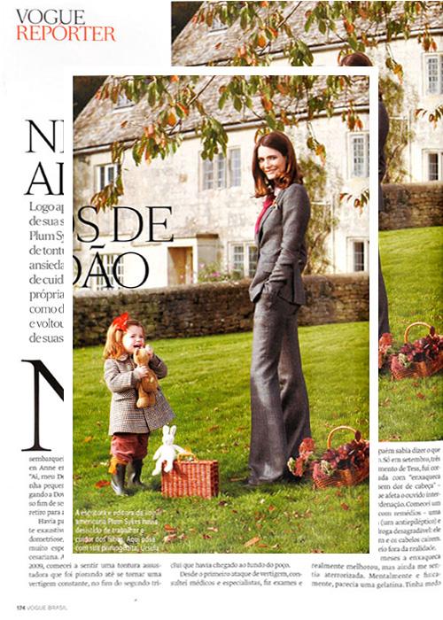 Plum Sykes Vogue Brasil