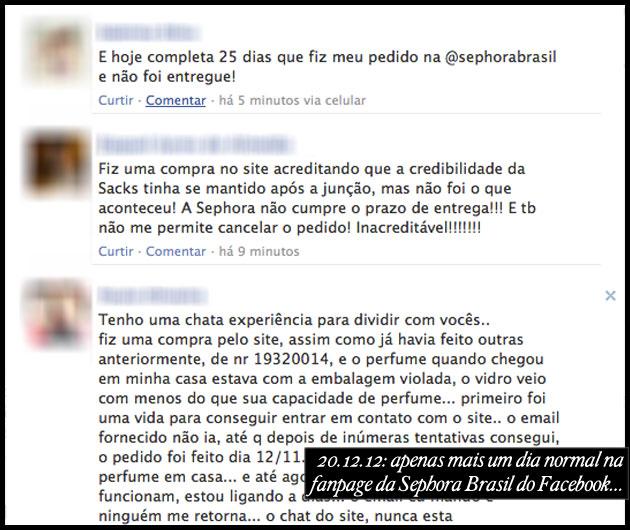 Sephora Brasil fail