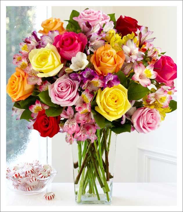 Flores em casa