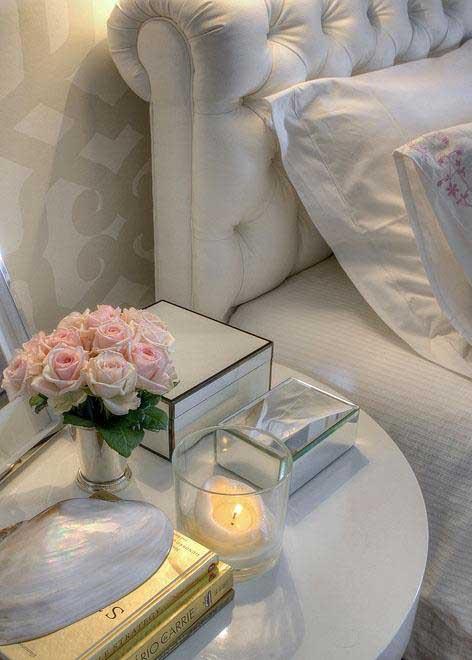 flores no quarto