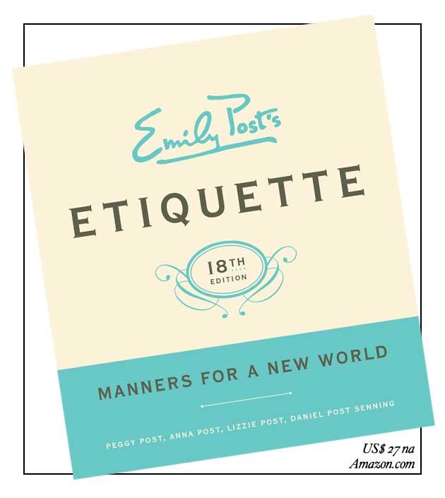 Emily Post's Etiquette livro
