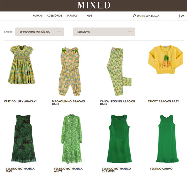 Mixed ecommerce
