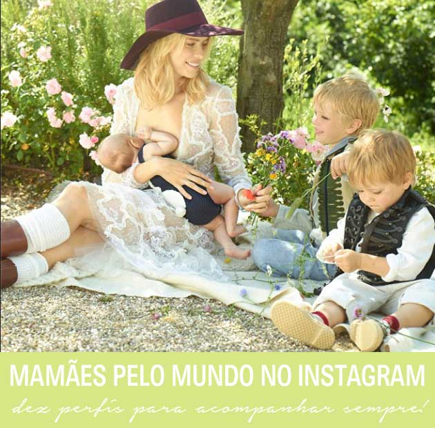 mães no instagram