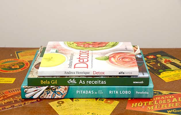 biblioteca de cozinha