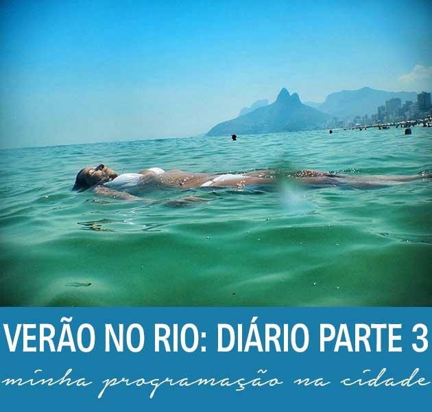 diário de viagem carioca