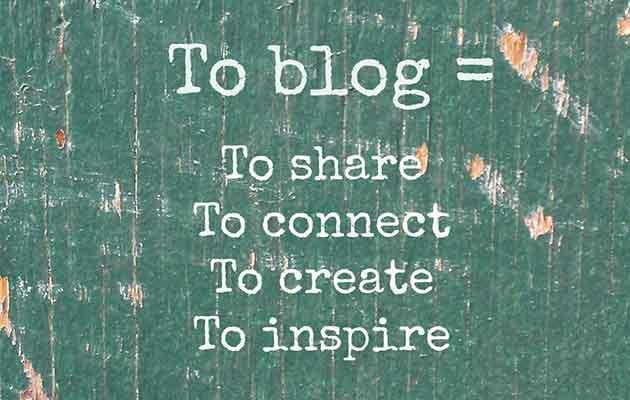 por que blogar