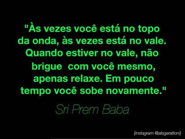 frase Sri Prem Baba