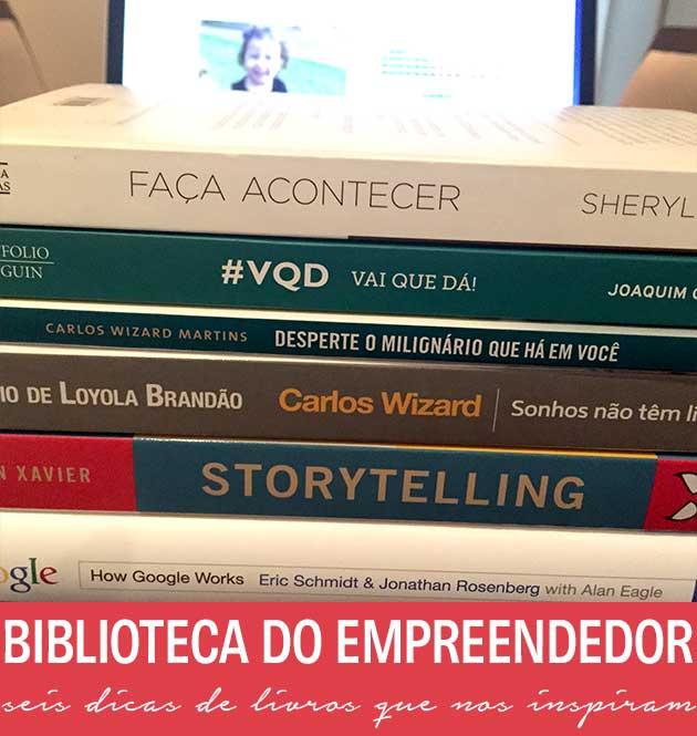 biblioteca de empreendedor