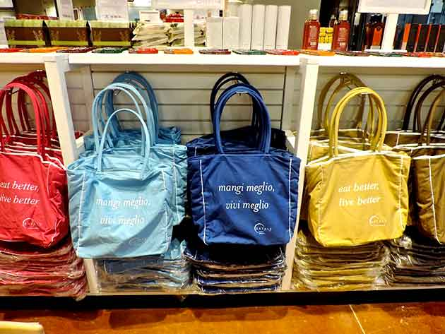 shopping bags Eataly SP