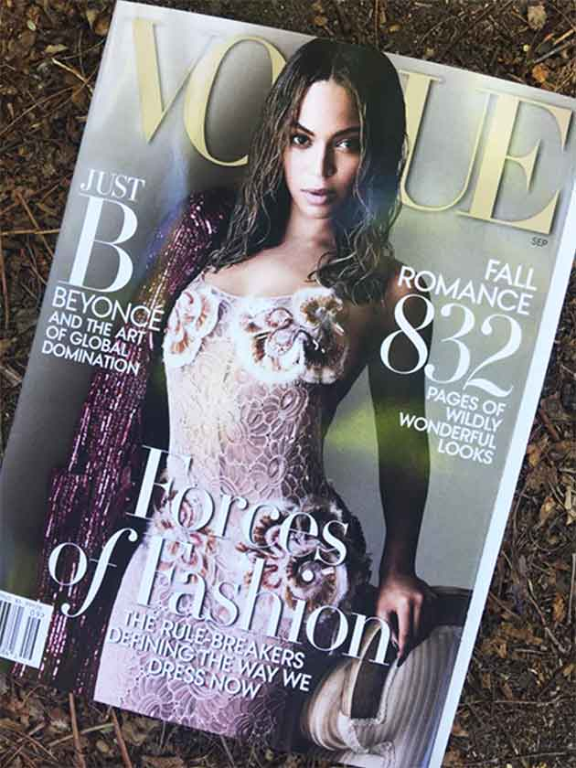 Vogue US Beyoncé