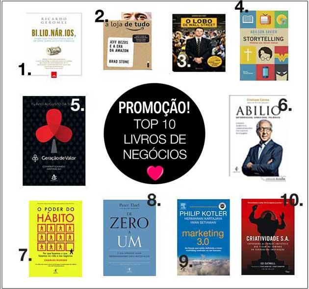 book friday livros de negócios