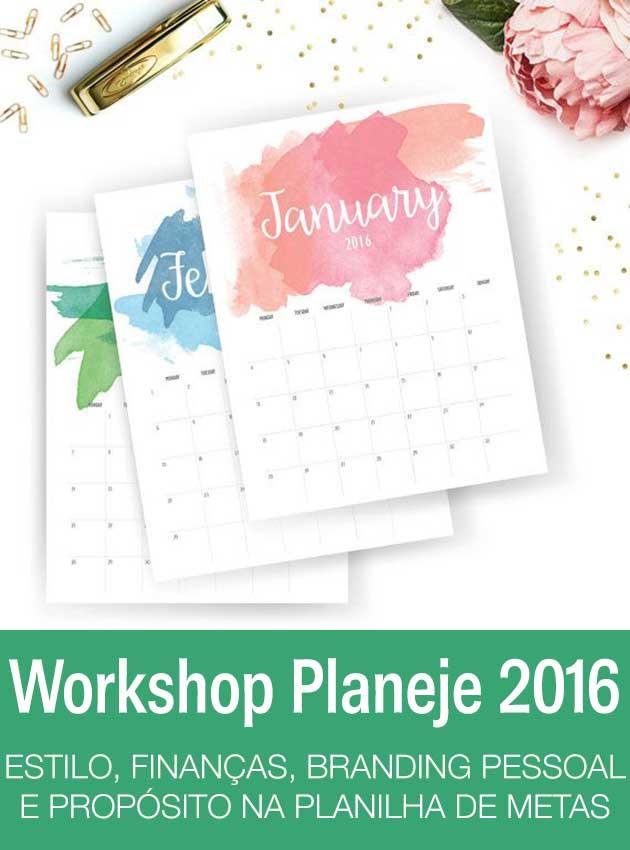 workshop Planeje 2016