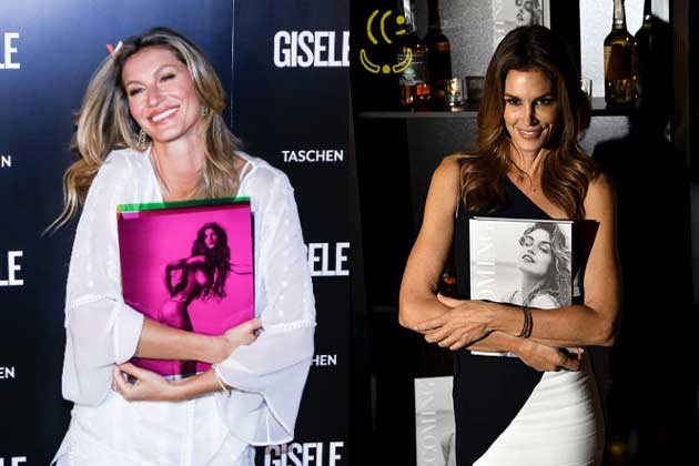 Gisele e Cindy Crawford