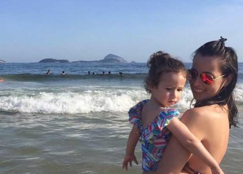 Ale e MH no Rio