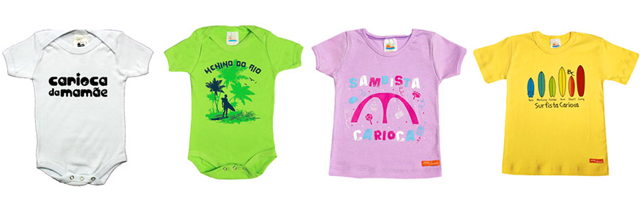 bebê carioca para mini-cariocas