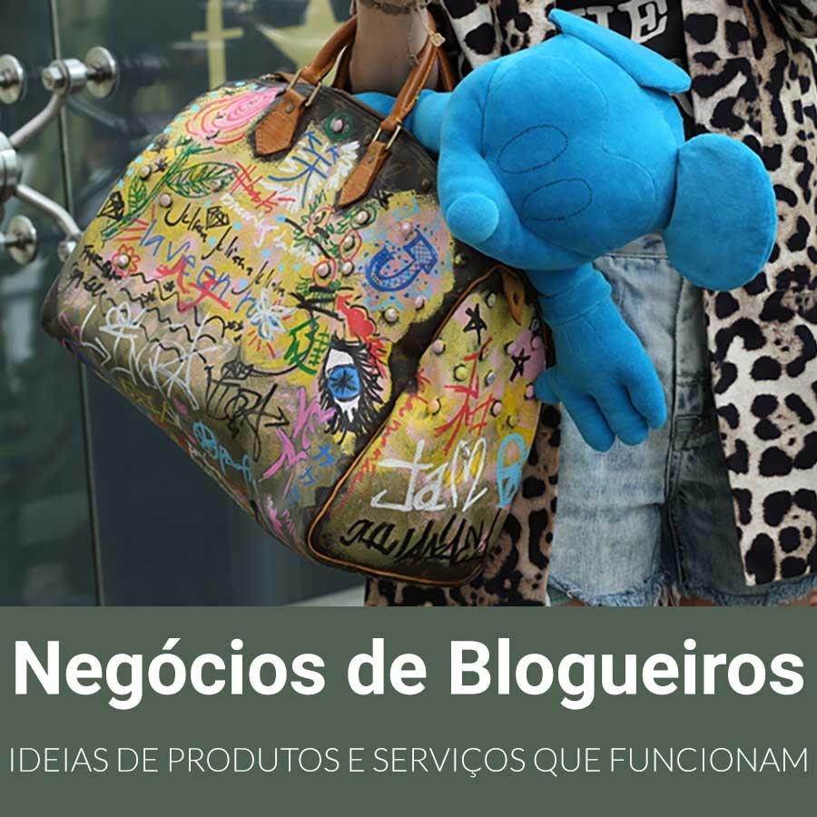 Negócios de blogueiros