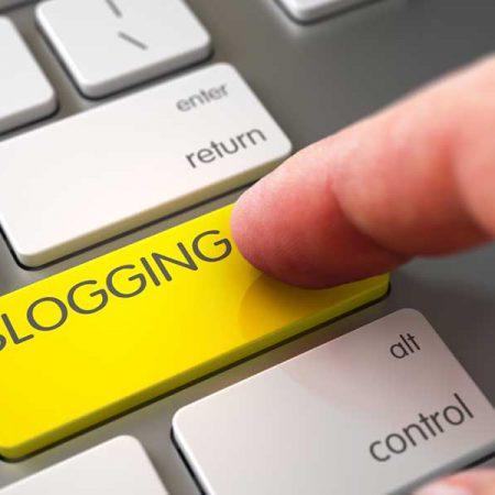 teclado de blogueiro