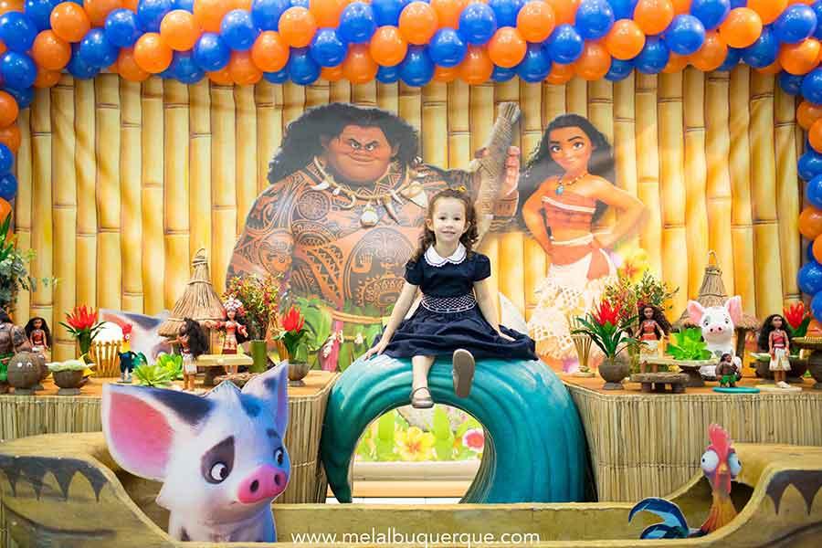 festa Moana mesa